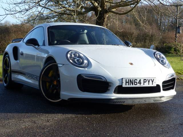 Porsche 911 3.8 S GB Edition 2dr PDK Coupe Petrol White at Rogate Garage Petersfield