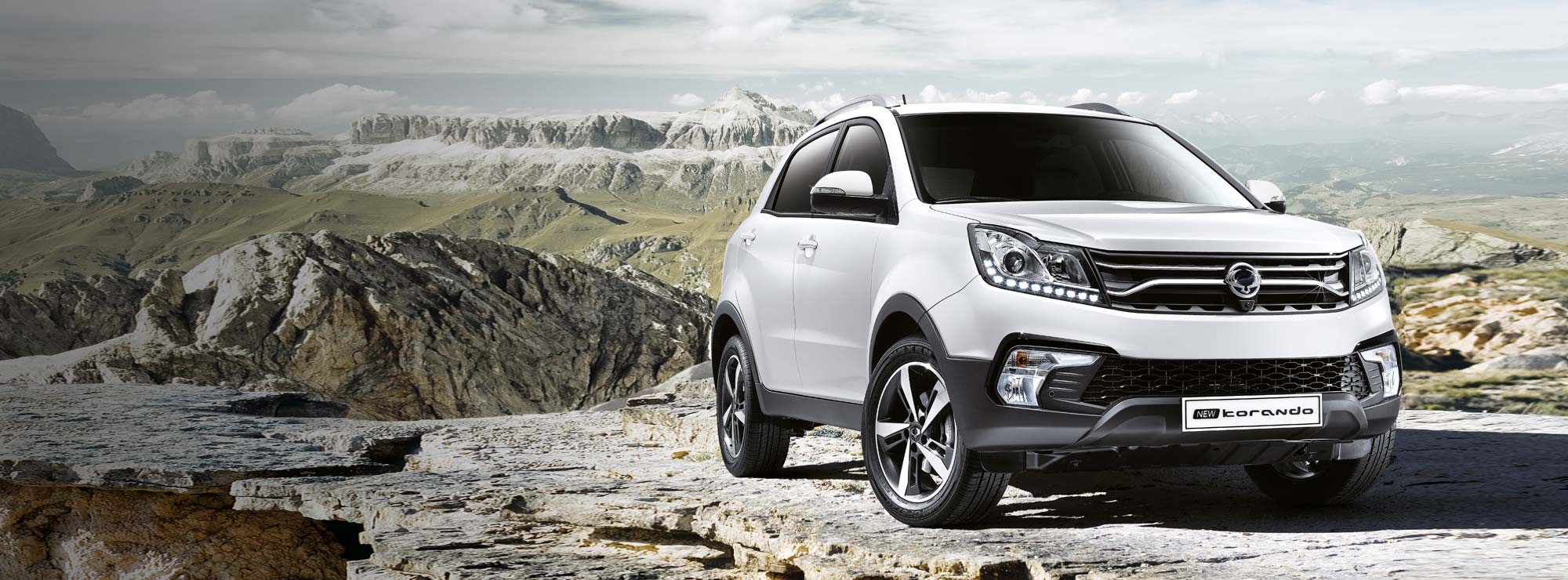 Korando From £17,995