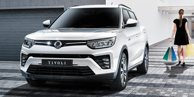 New SsangYong All New Tivoli from £13,995